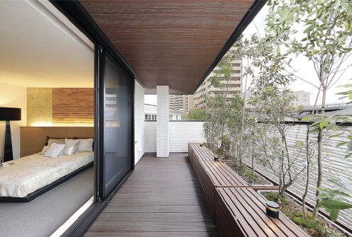 GRANFECT(グランフェクト)テラス・ウッドデッキ・庭イメージ