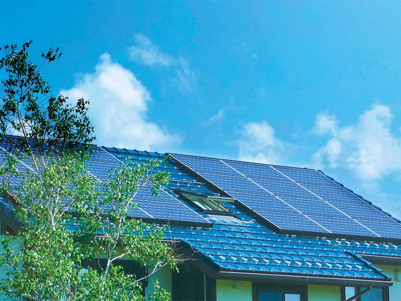 消費エネルギーは最小限に 自然エネルギーは最大限に活用