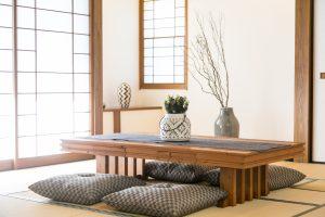 日本人の住まいに欠かせない和室は、床の間・炉・書斎を設けている