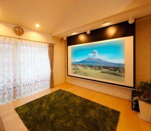 念願だったホームシアター。自宅映画館の完成|実例201705