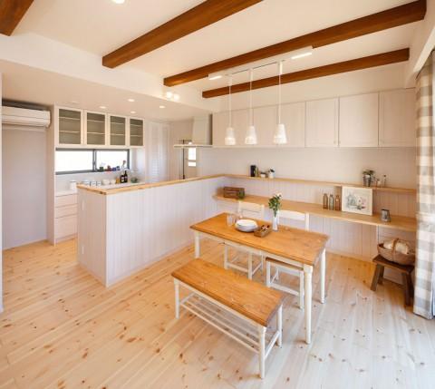 分譲天辰モデルハウス2キッチン