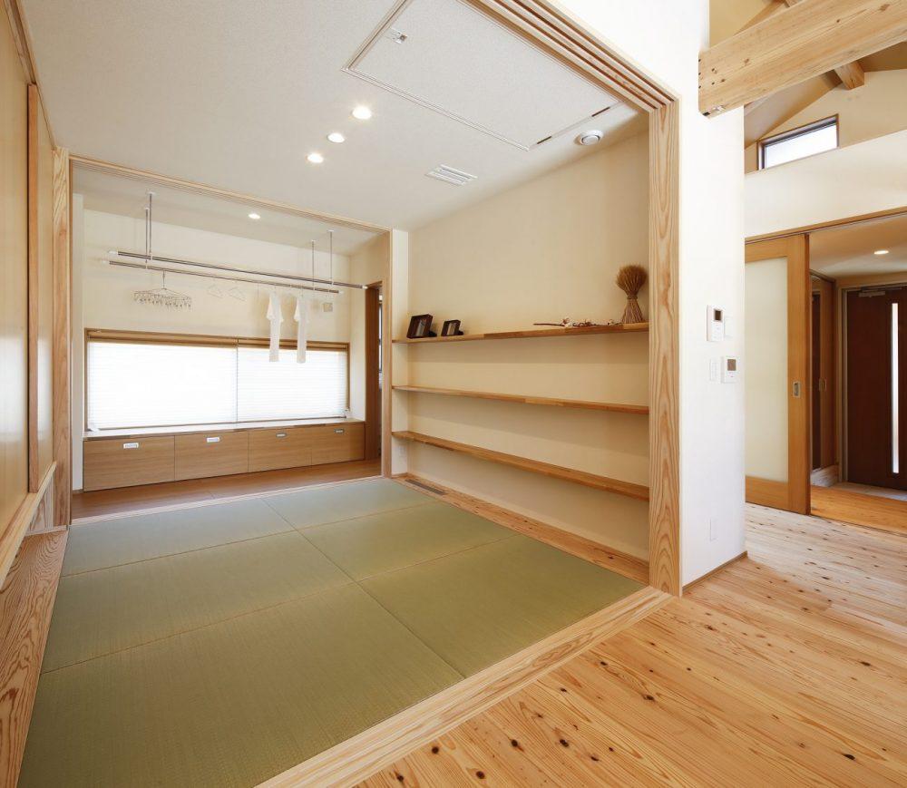 野口西モデルハウス 平屋 4LDK+多目的ポーチ(宿泊体験館)