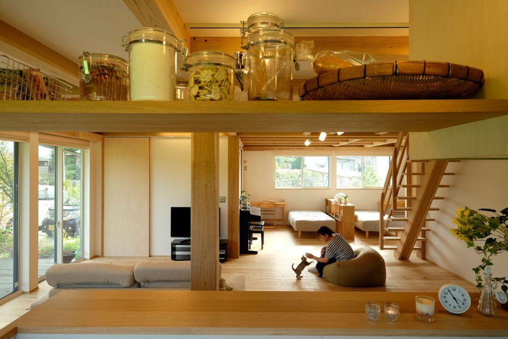 安らぎを生み出すオープンな住まい MOOK HOUSE