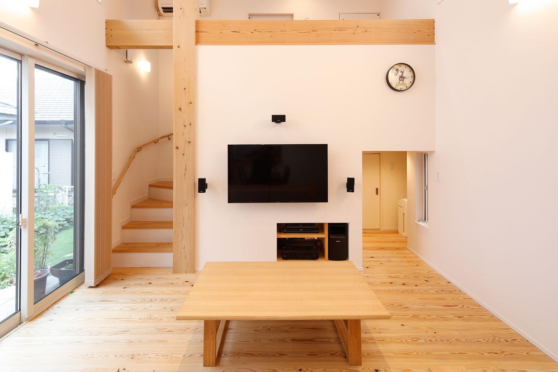 中2階のある平屋感覚の家