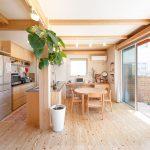 木の暖かさを感じる、開放的で落ち着きのある優しい空間|建築実例201802