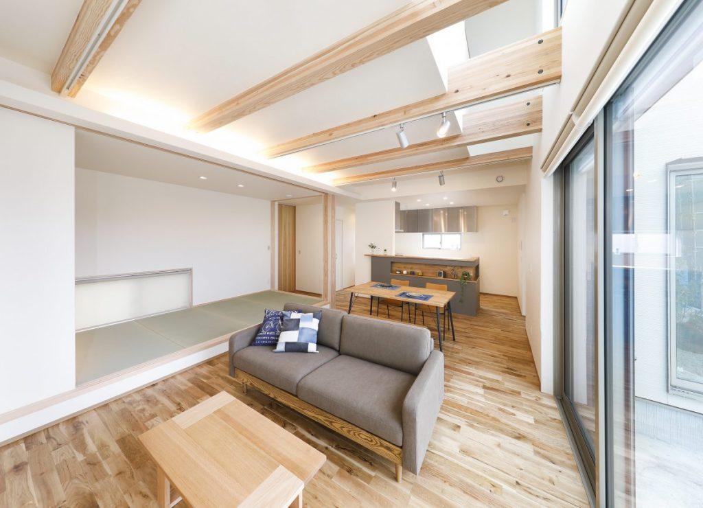 パルタウン大明丘モデルハウス 2階建 3LDK+吹抜け(No.4区画)