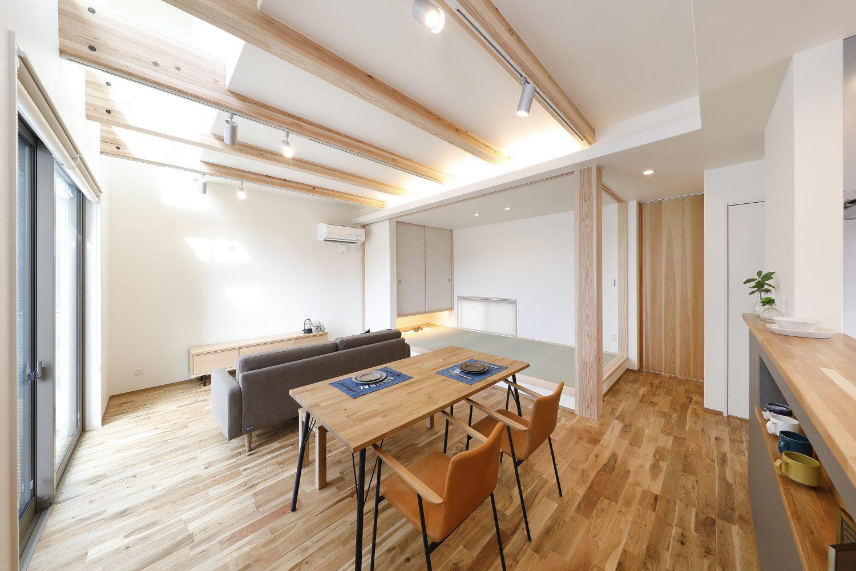 パルタウン大明丘モデルハウス 2階建 4LDK+吹抜け(No.4区画)