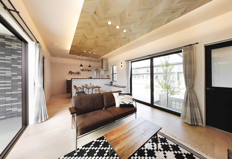 ピースフルタウン札元モデルハウス 平屋 3LDK+和室(No.4区画)