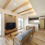 パルタウン大明丘モデルハウス 2階建 4LDK+WIC(No.1区画)