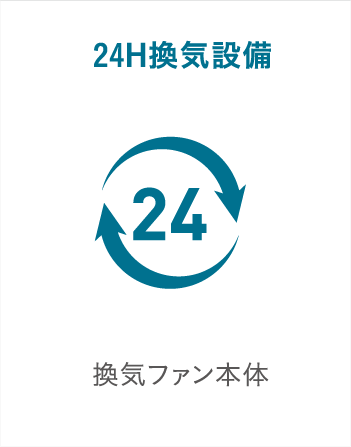 24H換気設備