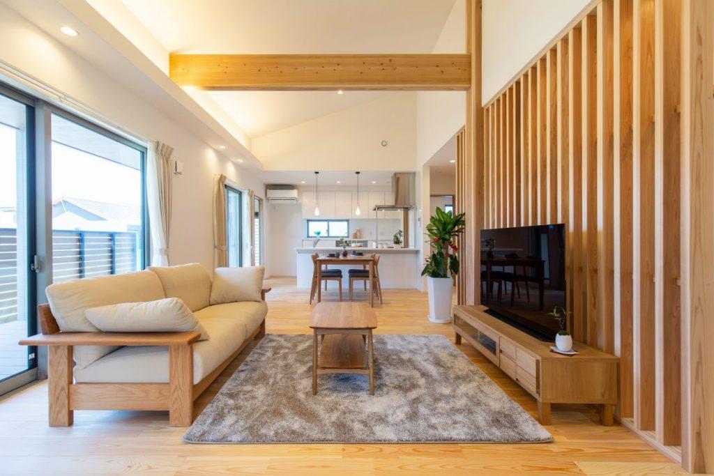 ピースフルタウン札元モデルハウス 平屋 4LDK+植栽(No.1区画)
