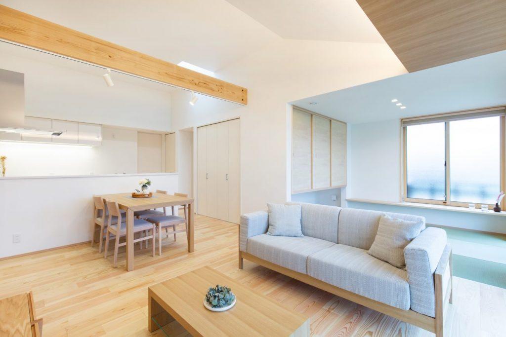 コンフォート帖佐モデルハウス 平屋 3LDK+高天井