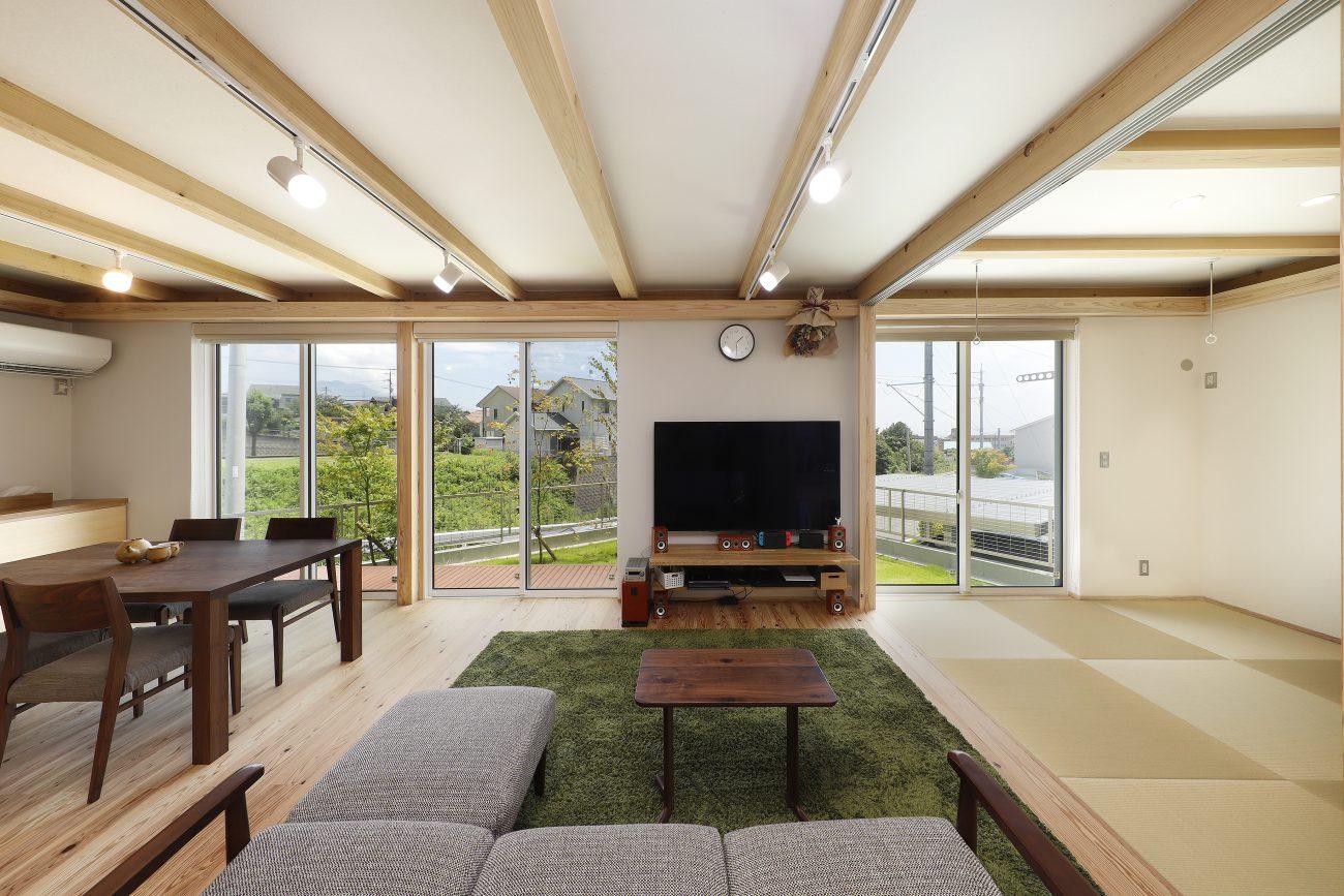 鹿児島の木のぬくもりと開放感のある快適な住まい