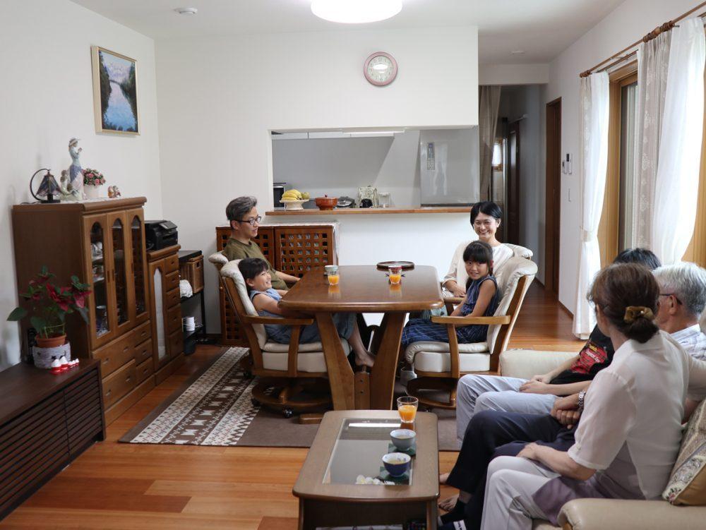 3世代家族が賑やかに集えるゆとりある住まい